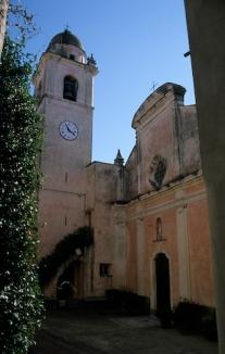La chiesa di Montemarcello