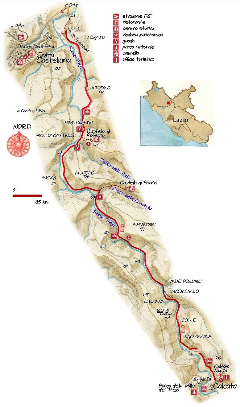 Calcata.map