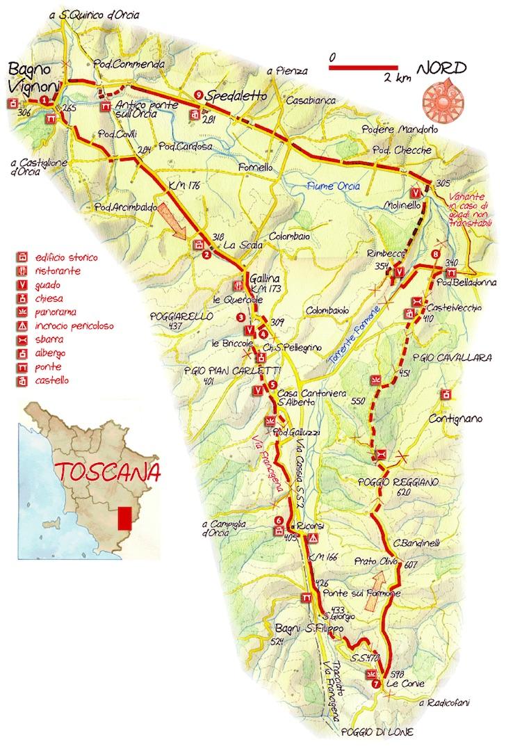 Francigena.map