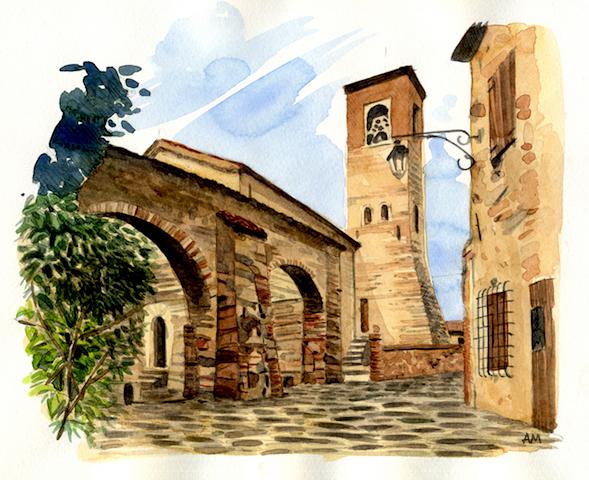 Arquà Petrarca.loggia235