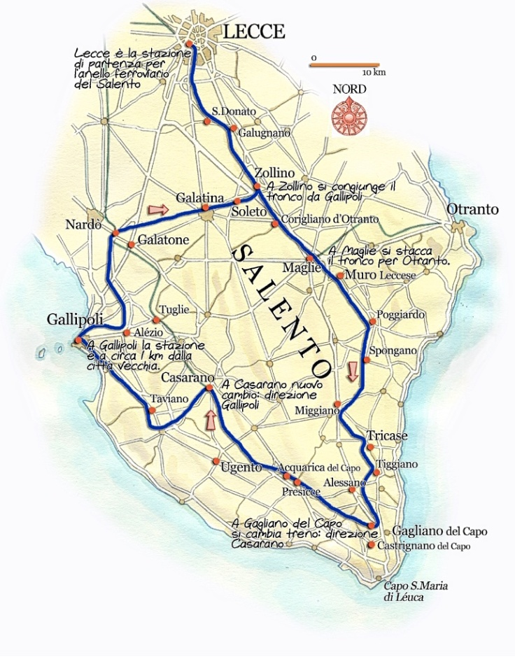 Salento.map