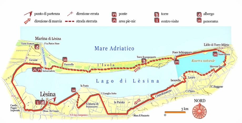 Lesina-map