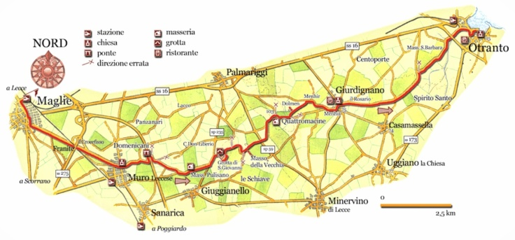 Maglie.map