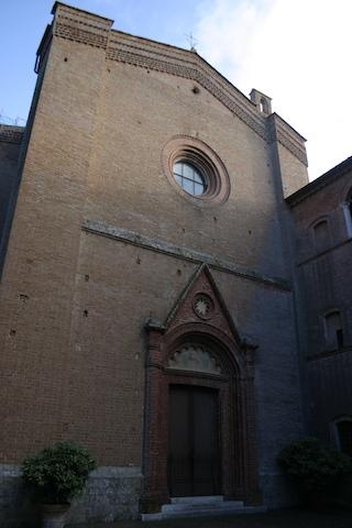 La chiesa di Monte Oliveto
