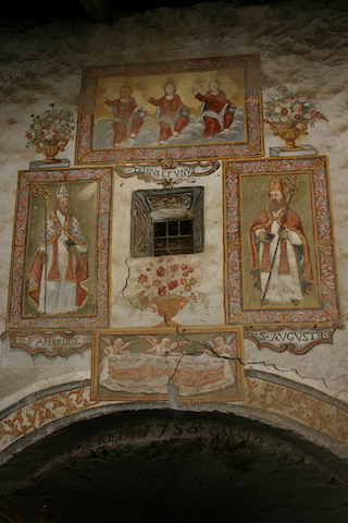 Celle.affresco.sindonico