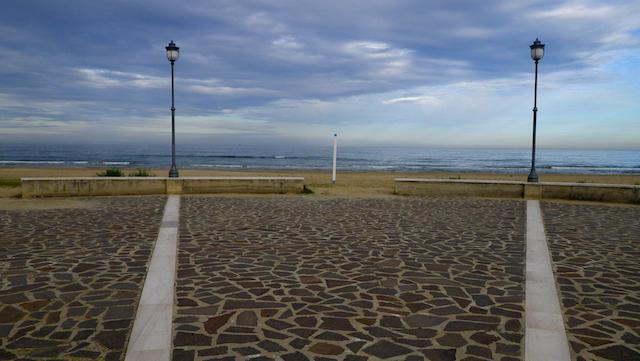 Rotonda sul mare a Silvi
