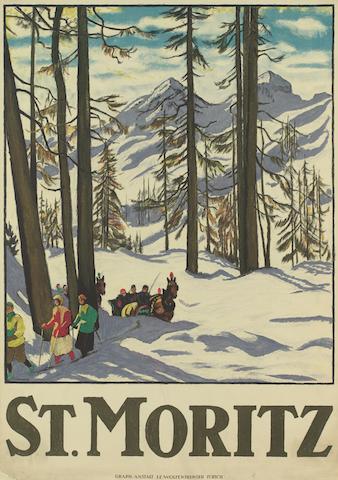 Schlitteda, Emil Cardinaux, 1917