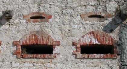 Le bocche da fuoco del Forte S.Marco