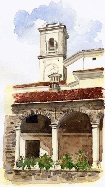 Montereale.loggia